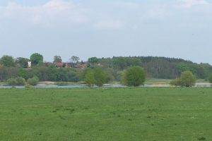 Blick auf den Rüterberg und das Dorf