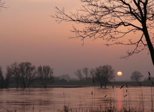 Sonnenuntergang Damnatz